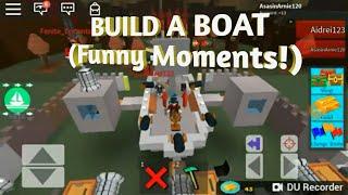 Roblox construire un bateau! (Moments drôles) Partie 1