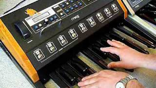 Moog Taurus 3 Bass Pedal Synthesizer