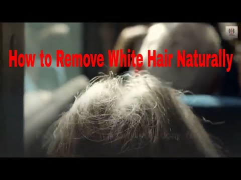 how-to-remove-white-hair-naturally
