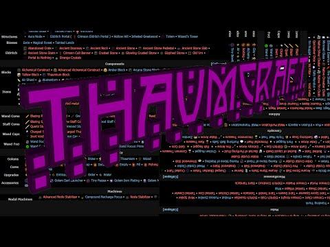 FTB Wiki Thaumcraft 4 Navbox Timelapse