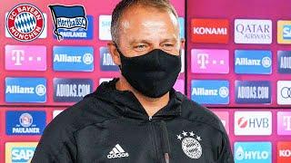 🎙️ FC Bayern Pressetalk mit Hansi Flick vor dem Spiel gegen Hertha BSC