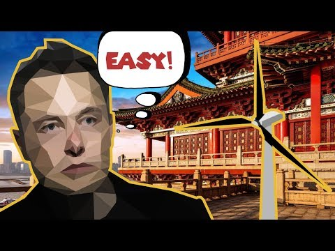Powering China With Wind - [Elon Musk]