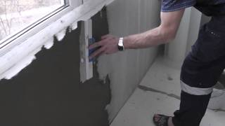 видео Отделочные работы балкона