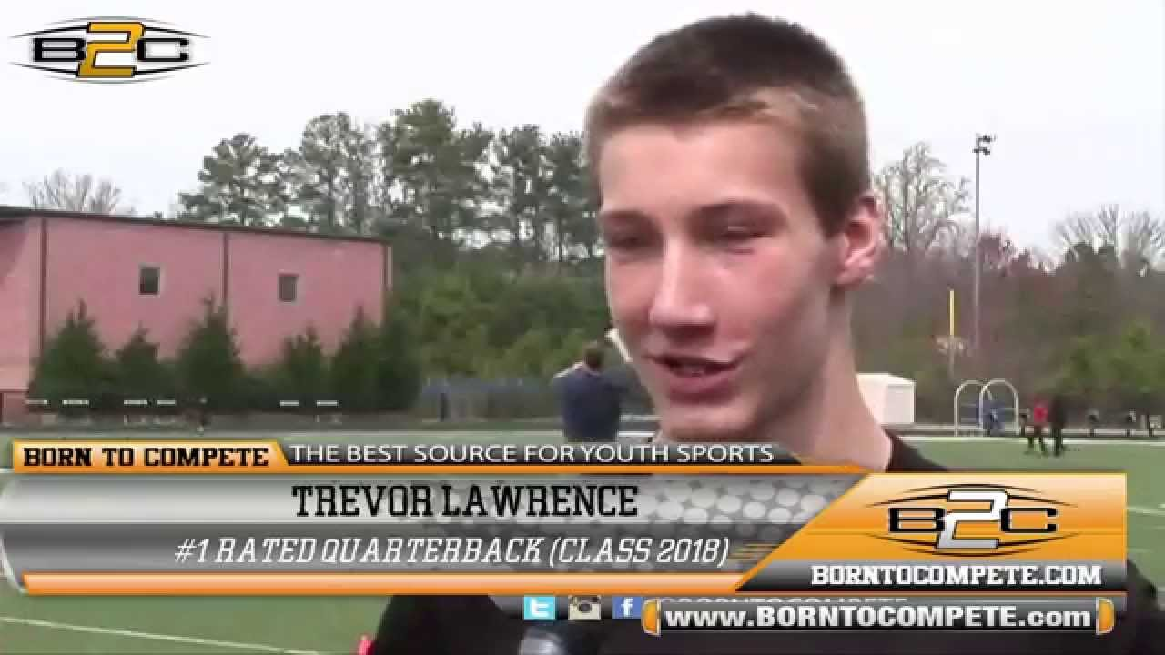 of #1 Prime: Lawrence 2018 - B2C (Class Rated QB  Trevor