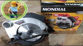 #Serra Circular Mondial 1200w#Testando a maquina!