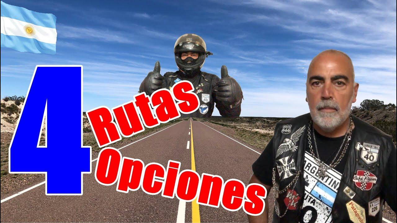 4 rutas....4 opciones para tus vacaciones en moto...o también en auto