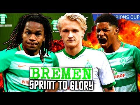 FIFA 17 : RASHFORD SANCHES & DOLBERG BEI BREMEN !!! 🔥🔥🔥 WERDER BREMEN SPRINT TO GLORY KARRIERE