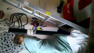 Jackass Homemade Video: Blanket Ladder