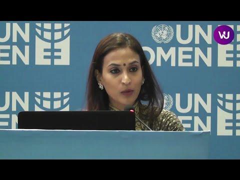 Rajini daughter Aishwarya Dhanush is U.N. Women's Goodwill Ambassador in India