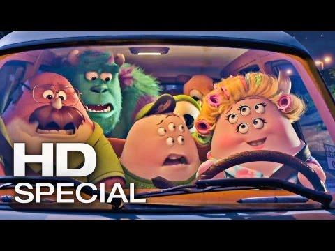 DIE MONSTER UNI Muttertag Trailer Deutsch German | 2013 Official Film [HD]