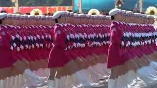 Женский парад в Китае