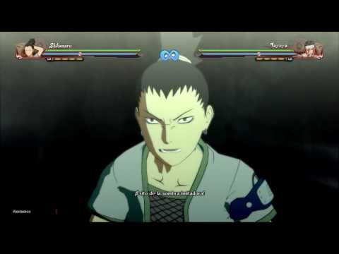 Naruto Shippuden: Ultimate Ninja Storm 4 (Sin Música) Todos los Jutsus definitivos en español latino