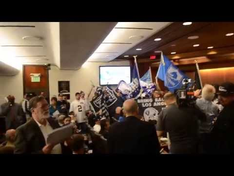San Diego Chargers & Los Angeles Raiders - NFL Football Stadium - Carson City Council Meeting