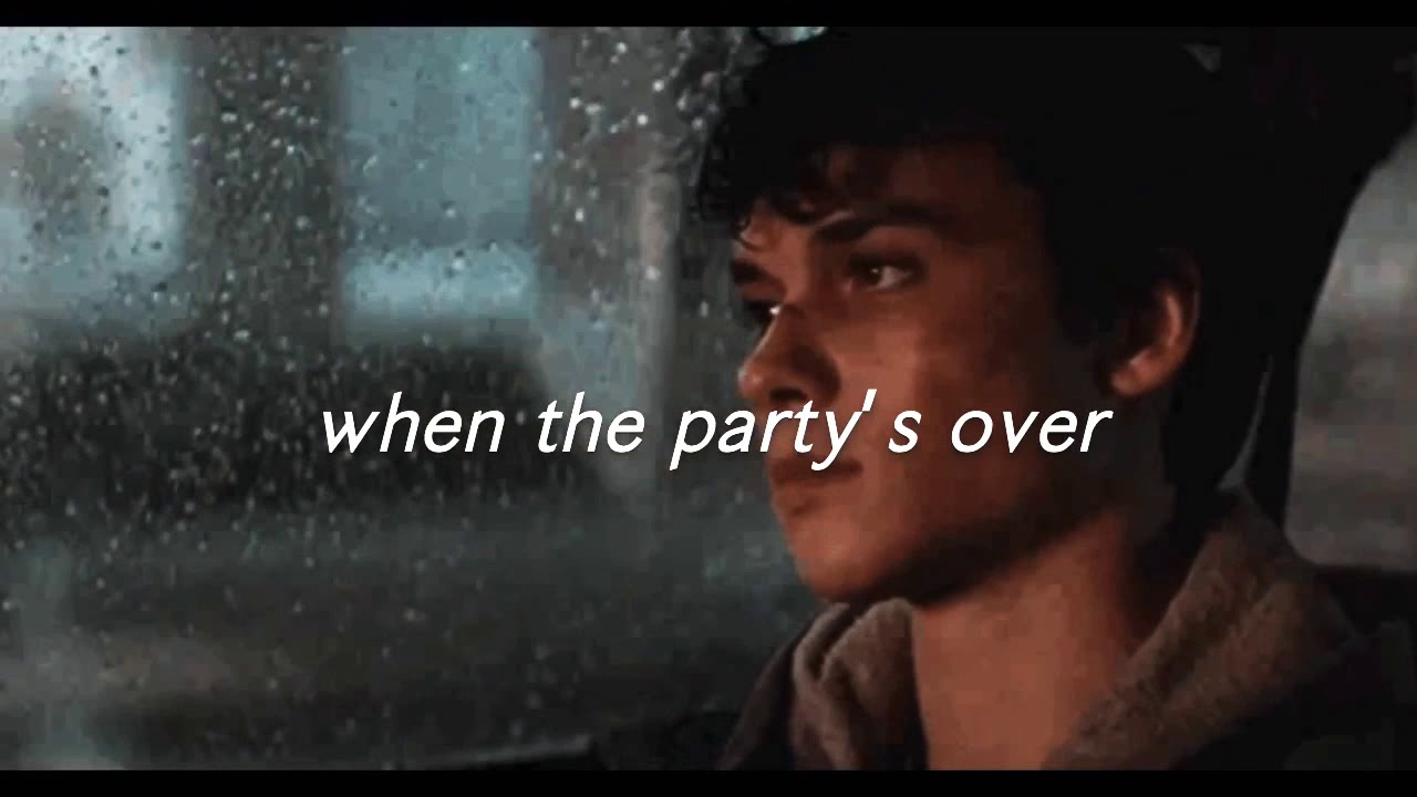 when the party's over - Billie Eilish (Empty Arena + Rain)