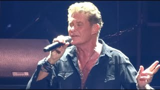 """David Hasselhoff """"Always On My Mind"""" Live October 2019 - Freedom! The Journey continues Tour 2019"""
