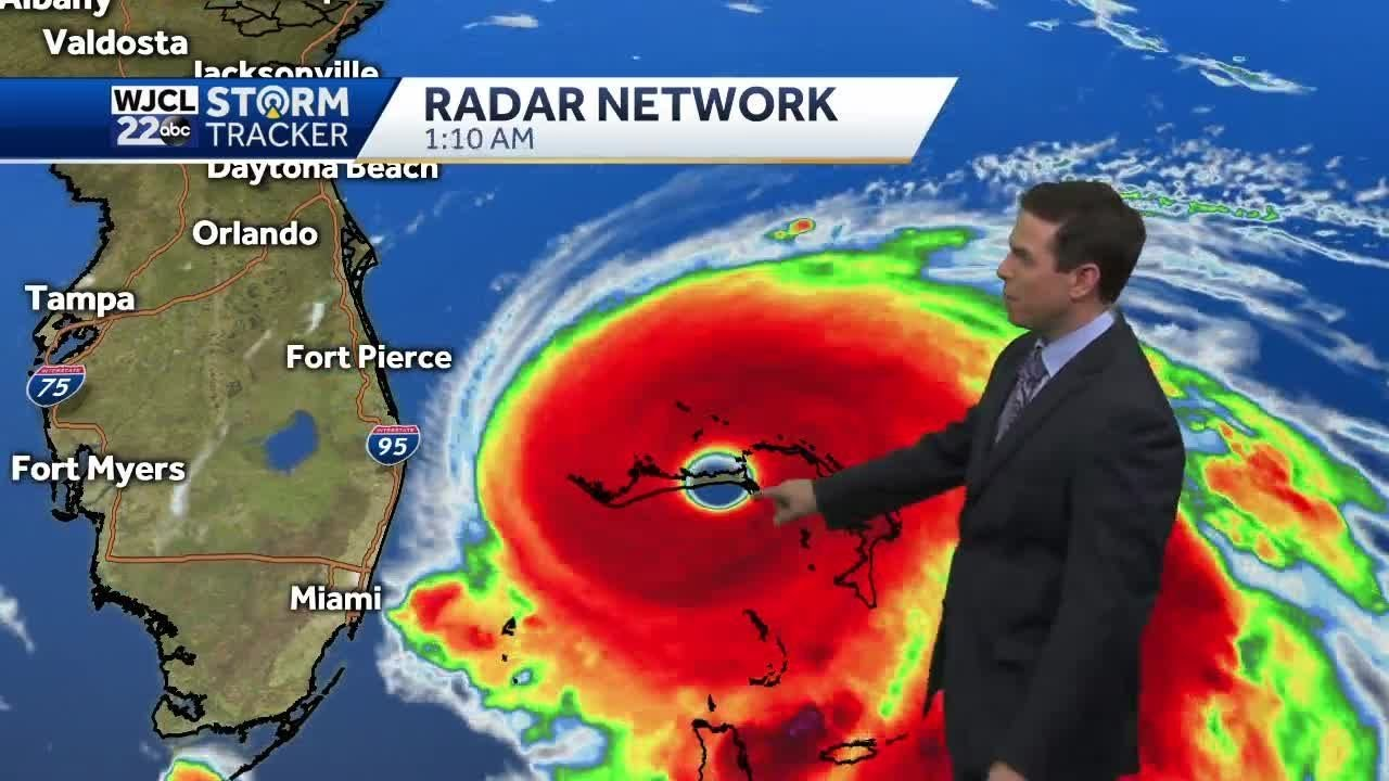 Dorian will impact our weather by Wednesday