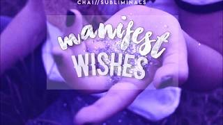 🌸 manifest ALL wishes INSTANTLY // subliminal 🌸