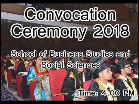 Convocation Ceremony 2018 - School of Business Studies and Social Sciences