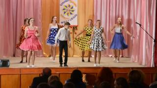 Конкурс- фестиваль дитячої народної творчості ''Буковинська зірочка'' танець ''Две подружки''