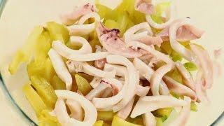 Салат из кальмаров | Обед безбрачия с Ильей Лазерсоном