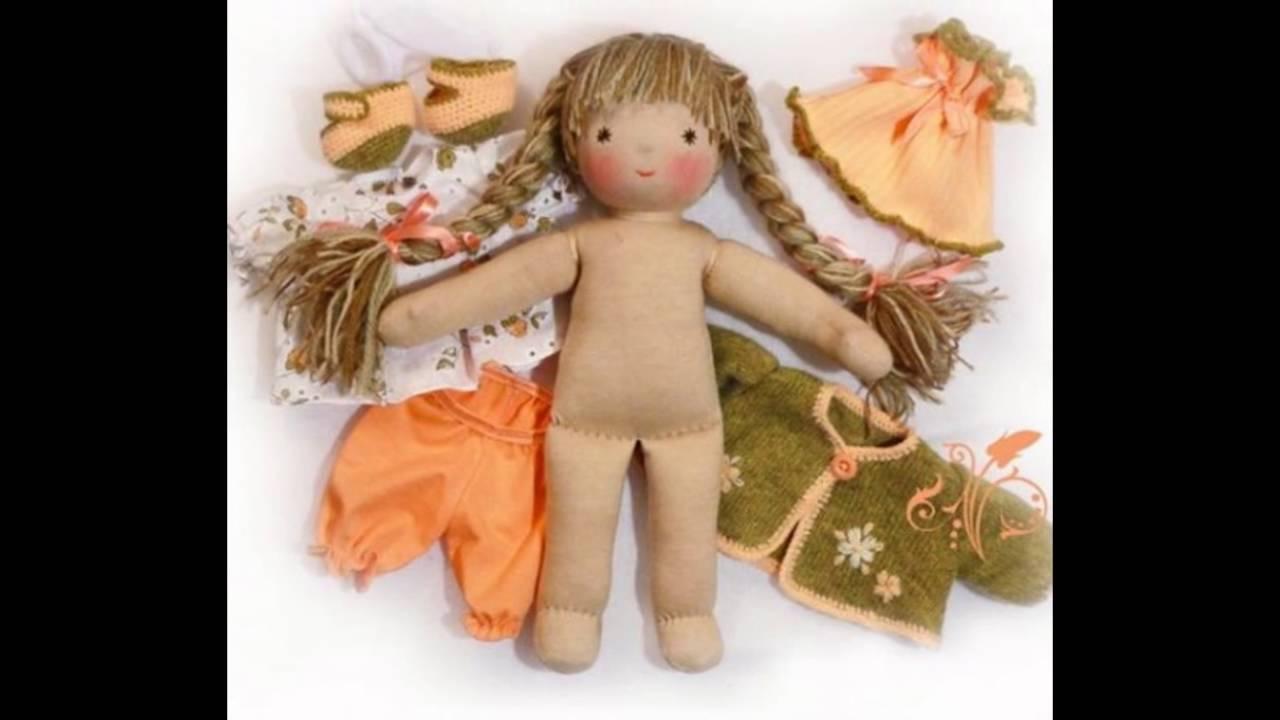 Как сделать своими руками красивую куклу