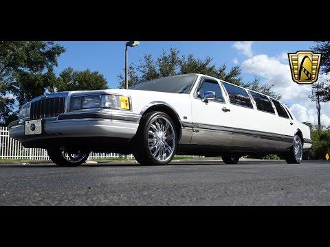 1990 Lincoln Town Car Limousine Gateway Classic Cars Orlando #615