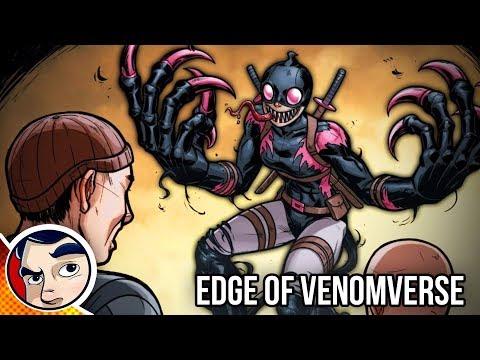 "Edge of Venomverse ""Gwenpool, Old Man Logan, Ghost Rider, Deadpool"" - Complete Story"