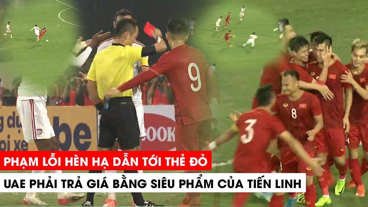 Siêu Phẩm để đời của Tiến Linh nhấn chìm UAE trên sân Mỹ Đình, Việt Nam 1-0 UAE  | Khán Đài Online