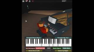Leave Out All the Rest - Minutes to Midnight by: Linkin Park on a ROBLOX piano. [Revamped]