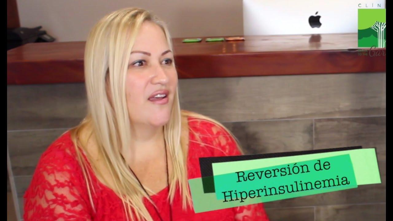 Reversión de Hiperinsulinemia y Diabetes Tipo 2