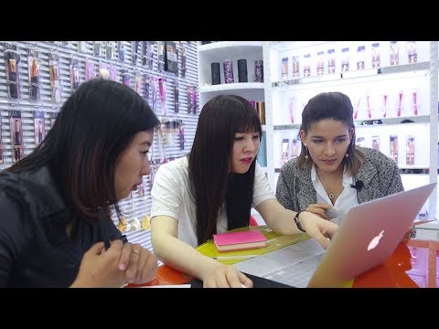 VISITING A CHINESE COSMETICS FACTORY | DANI IN CHINA EPISODE 003
