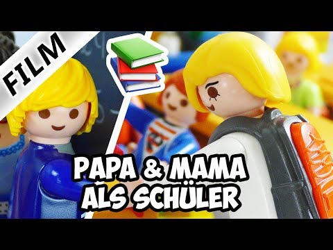 Playmobil Film deutsch | MAMA & PAPA in Julians Klasse | Ganze Familie Vogel hat Mathe | Kinderserie