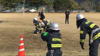 鹿児島県消防学校 第79期初任教育 卒業式s