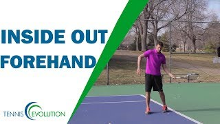 Inside Out Forehand | TENNIS FOREHAND
