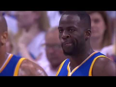 Draymond Green Trips Enes Kanter   Warriors vs Thunder   Game 4   May 24, 2016   2016 NBA Playoffs