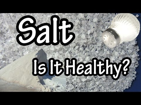 Salt Sodium Chloride What is Salt What Is Sodium Chloride How Does Salt Raise Blood Pressure