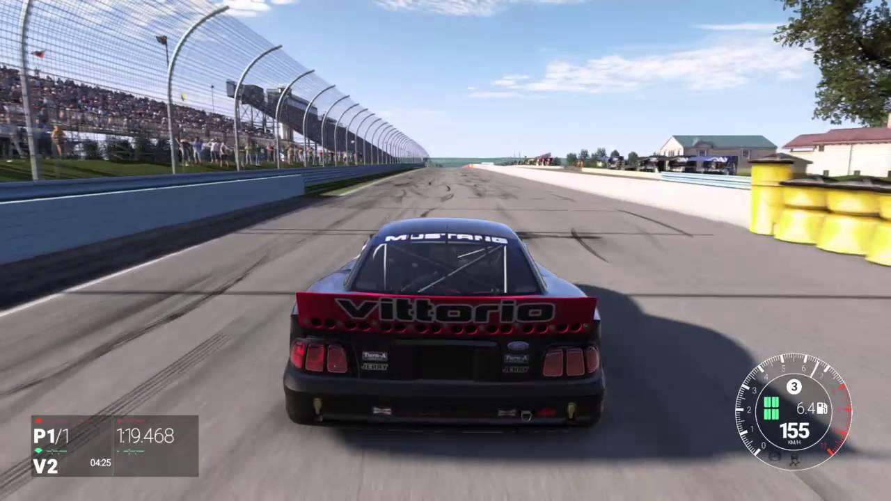 Circuito Watkins Glen : Project cars circuito watkins glen corto ford mustang cobra ps