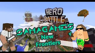 Samagames V3 New Frontiers Walkaround et UHC Run, visite du nether