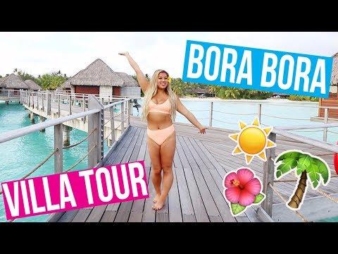 PRIVATE BORA BORA VILLA TOUR!! MOST INSANE RESORT EVER!