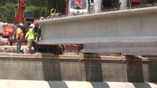 Cypress Gardens Bridge Girder Setting