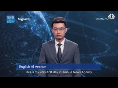 Stichiz - Bruhhh: China Unveils First AI News Anchor