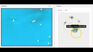 Cilium - Undulatory movement in artificial life simulator