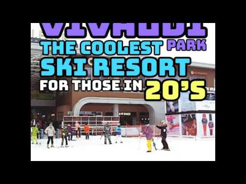 Vivaldi Park | South Korea's Coolest Ski Resort For Those in 20's