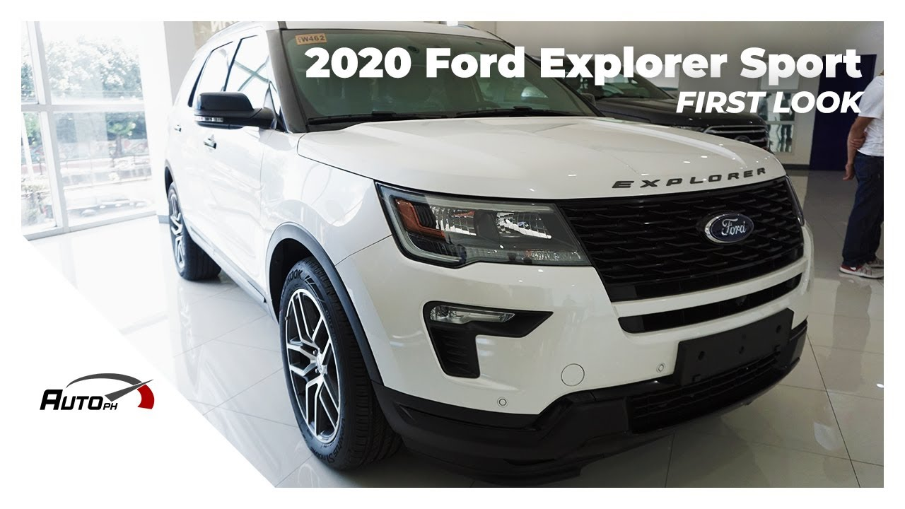 2018 Ford Explorer 3 5 V6 Sport First Look Philippines Youtube