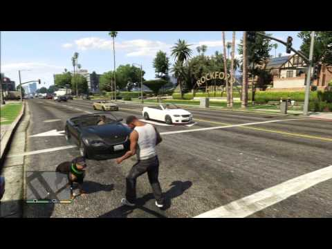 GTA 5 DOGS ATTACK