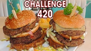Empire State Burger Challenge in the Netherlands!!