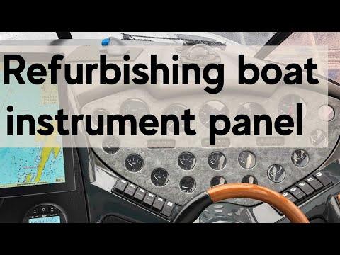 Refurbishing Boat Instrument Panel
