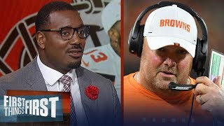 Freddie Kitchens must manage Browns personalities to win — Chris Canty | NFL | FIRST THINGS FIRST