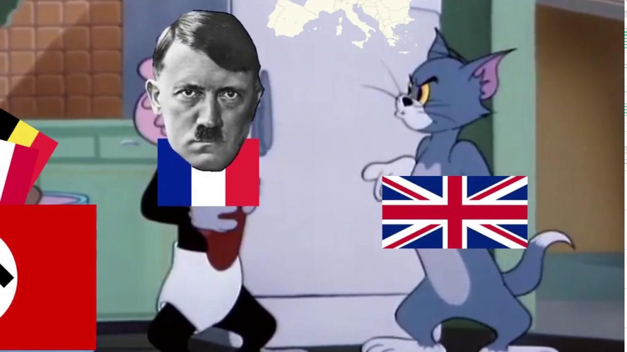 СССР VS Нацисткая германия[Том и Джери]прикол)