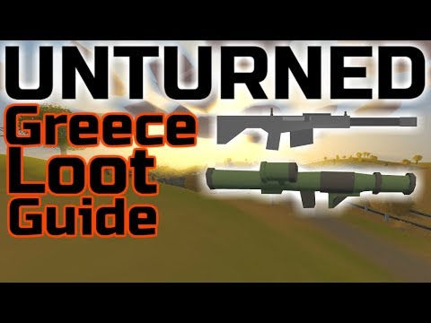 Unturned Greece Loot Guide (With Text)